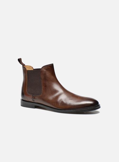 Boots en enkellaarsjes Melvin & Hamilton Susan 10 Bruin detail