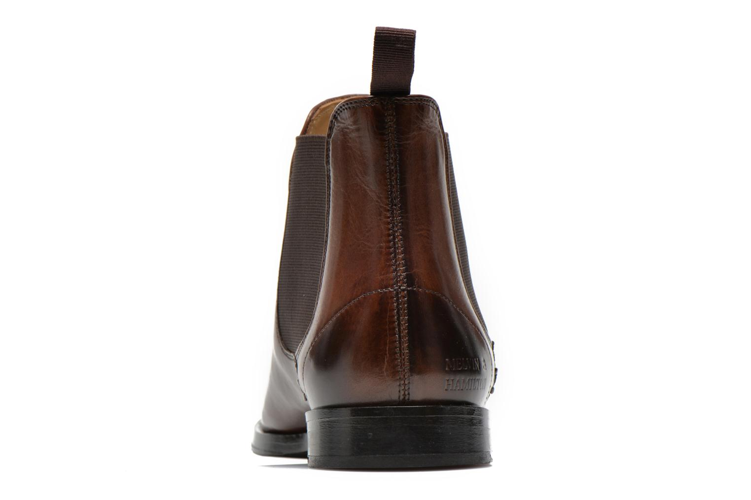 Ankle boots Melvin & Hamilton Susan 10 Brown view from the right