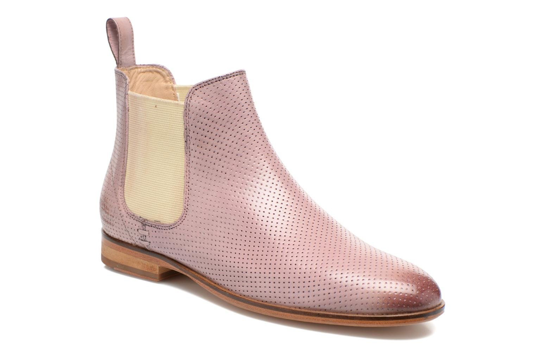 Boots en enkellaarsjes Melvin & Hamilton Susan 10 Roze detail
