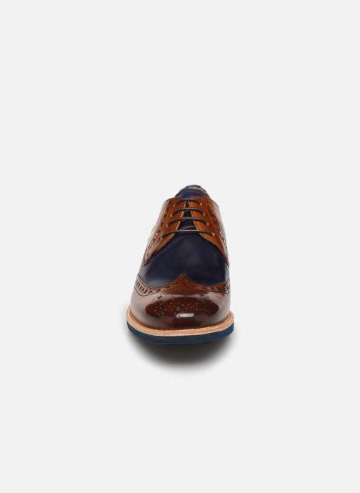 Zapatos con cordones Melvin & Hamilton Amelie 3 Azul vista del modelo