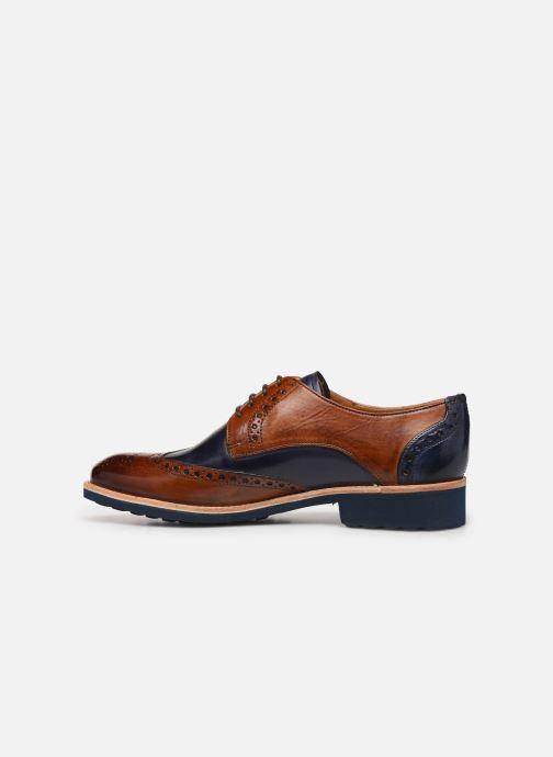 Zapatos con cordones Melvin & Hamilton Amelie 3 Azul vista de frente