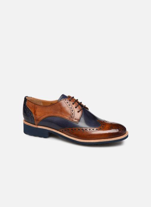 Zapatos con cordones Melvin & Hamilton Amelie 3 Azul vista de detalle / par