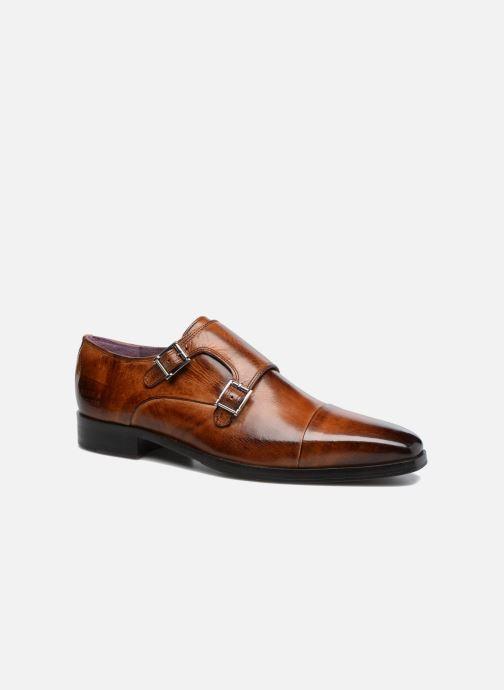 Schuhe mit Schnallen Melvin & Hamilton Lance 1 braun detaillierte ansicht/modell