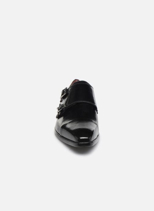 Mocassins Melvin & Hamilton Lance 1 Noir vue portées chaussures