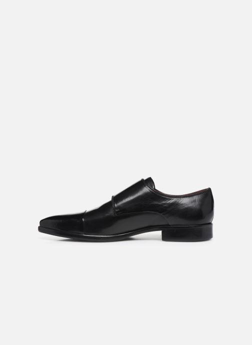 Schuhe mit Schnallen Melvin & Hamilton Lance 1 schwarz ansicht von vorne