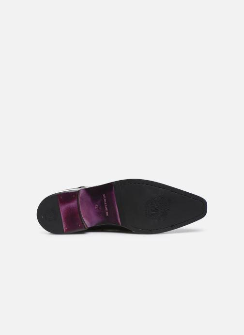 Schuhe mit Schnallen Melvin & Hamilton Lance 1 schwarz ansicht von oben