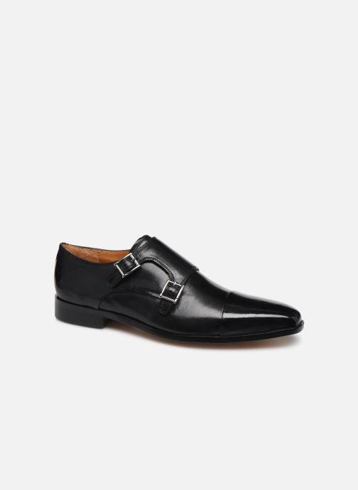 Zapato con hebilla Melvin & Hamilton Lance 1 Negro vista de detalle / par