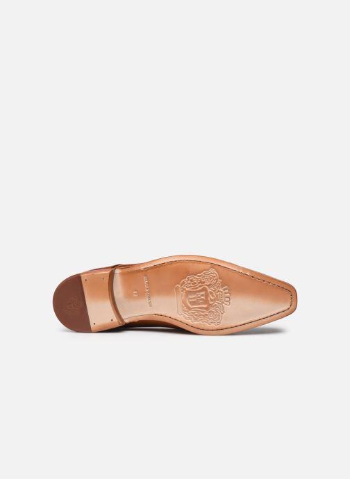 Schuhe mit Schnallen Melvin & Hamilton Lance 1 braun ansicht von oben