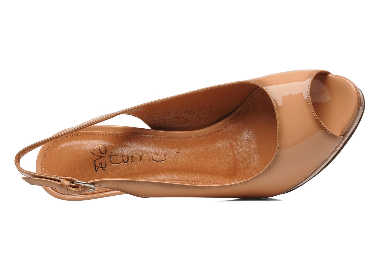 Sandales et nu-pieds Eva Turner Melda Rose vue gauche