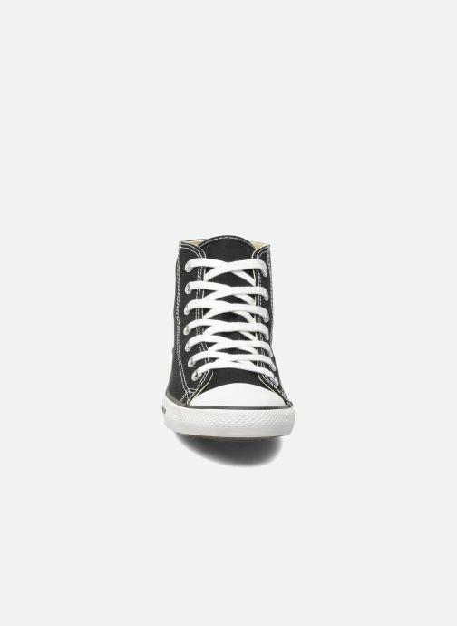 7a5df3f23898 Baskets Converse All Star Dainty Canvas Mid W Noir vue portées chaussures