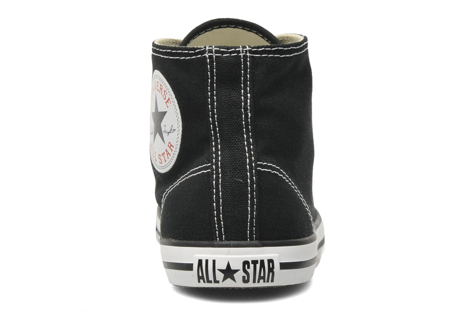 Sneakers Converse All Star Dainty Canvas Mid W Zwart rechts