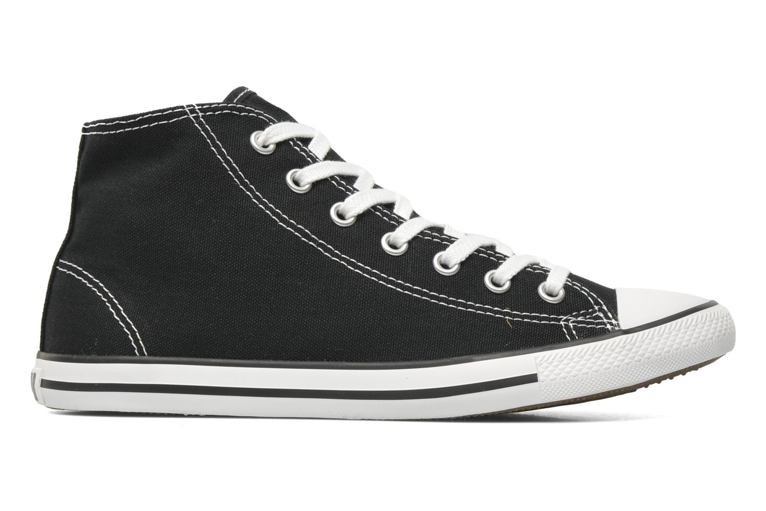 Baskets Converse All Star Dainty Canvas Mid W Noir vue derrière