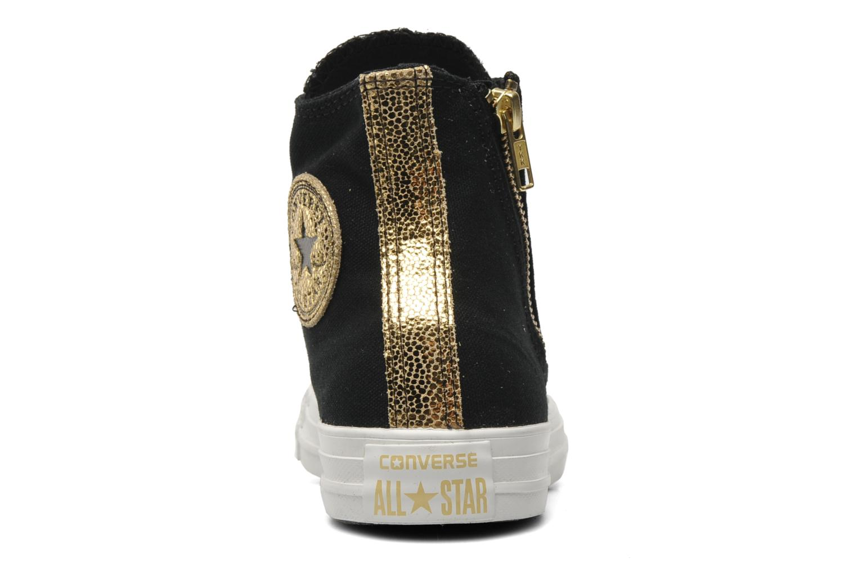Sneakers Converse Chuck Taylor All Star Sparkle Hi W Svart Bild från höger sidan