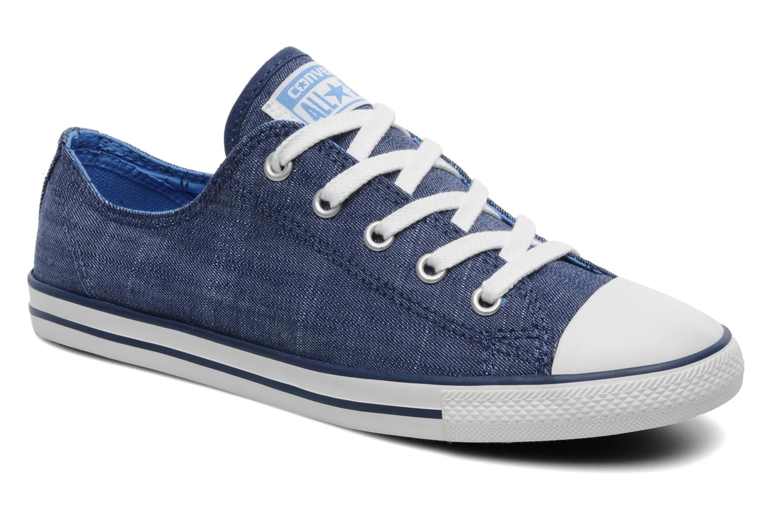7cfce0795d38 Converse All Star Dainty Denim Ox W (Blue) - Trainers chez Sarenza ...