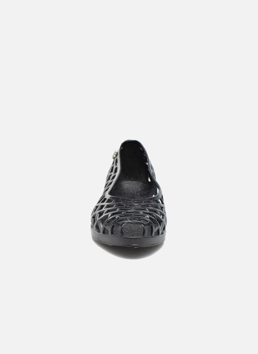Ballerines Méduse Javana Noir vue portées chaussures