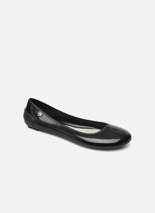 Bailarinas Méduse Salsada Negro vista de detalle / par