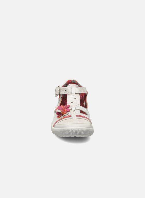 Sandales et nu-pieds Catimini CHEVREFEUILLE Argent vue portées chaussures