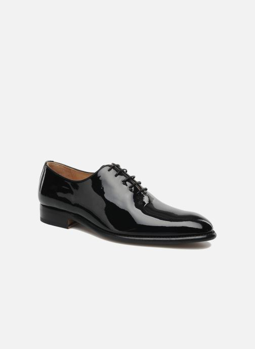 Lace-up shoes Marvin&Co Luxe Wade - Cousu Goodyear Black detailed view/ Pair view