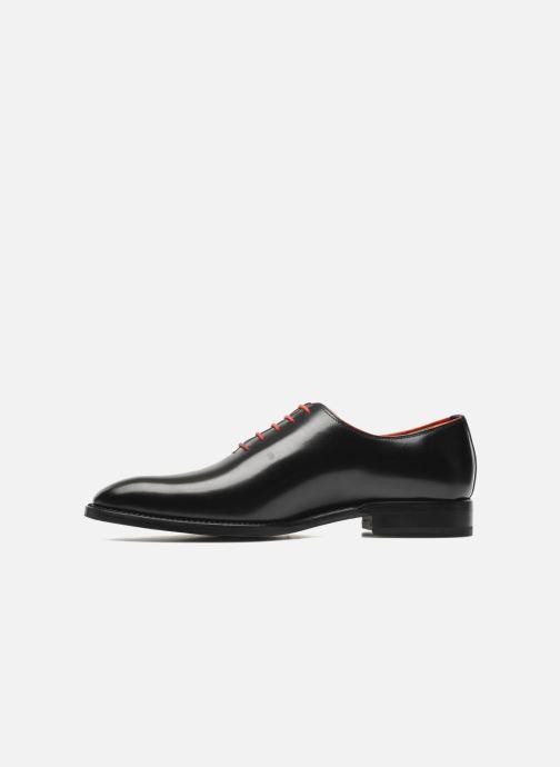 Zapatos con cordones Marvin&Co Luxe Wade - Cousu Goodyear Negro vista de frente