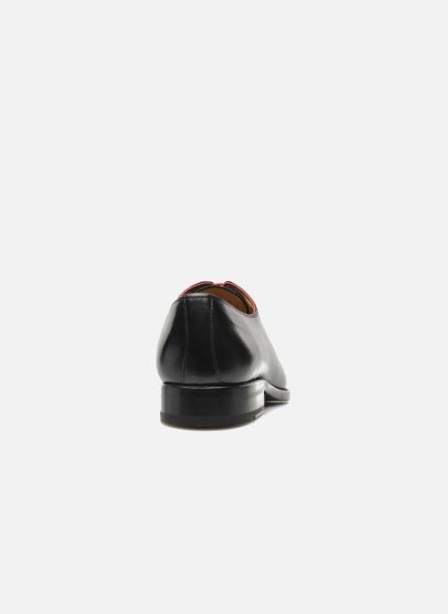 Zapatos con cordones Marvin&Co Luxe Wade - Cousu Goodyear Negro vista lateral derecha