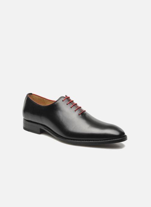 Snøresko Marvin&Co Luxe Wade - Cousu Goodyear Sort detaljeret billede af skoene