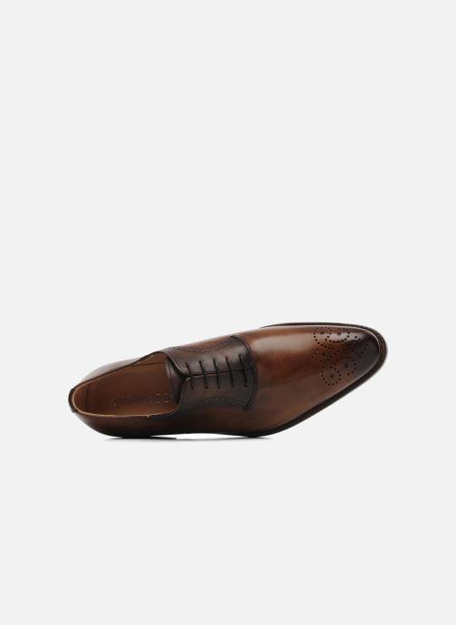 Chaussures à lacets Marvin&Co Luxe Walburg - Cousu Goodyear Marron vue gauche