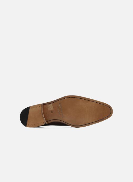 Chaussures à lacets Marvin&Co Luxe Walburg - Cousu Goodyear Marron vue haut
