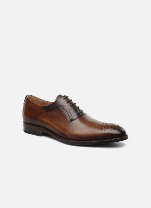 Veterschoenen Marvin&Co Luxe Walburg - Cousu Goodyear Bruin detail