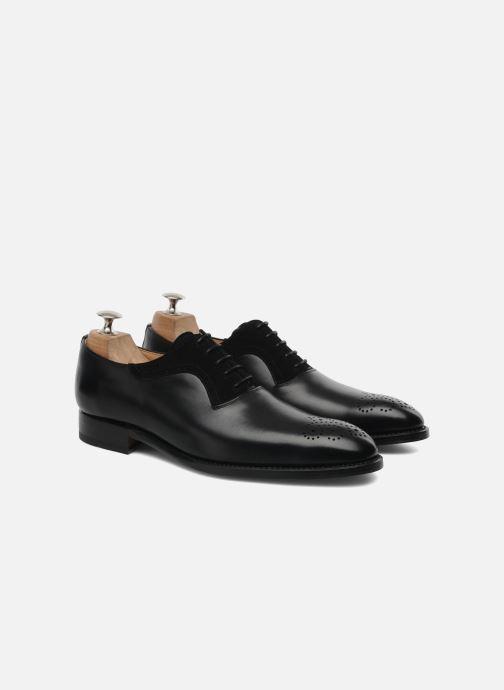 Zapatos con cordones Marvin&Co Luxe Walburg - Cousu Goodyear Negro vista 3/4