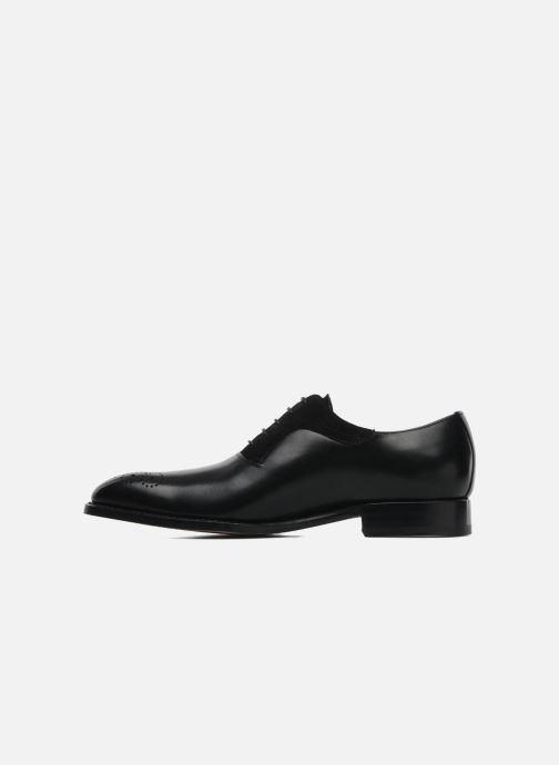 Zapatos con cordones Marvin&Co Luxe Walburg - Cousu Goodyear Negro vista de frente