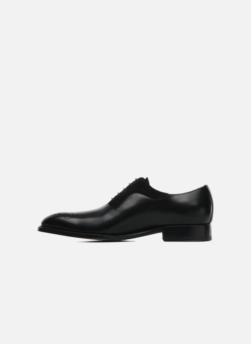 Lace-up shoes Marvin&Co Luxe Walburg - Cousu Goodyear Black front view