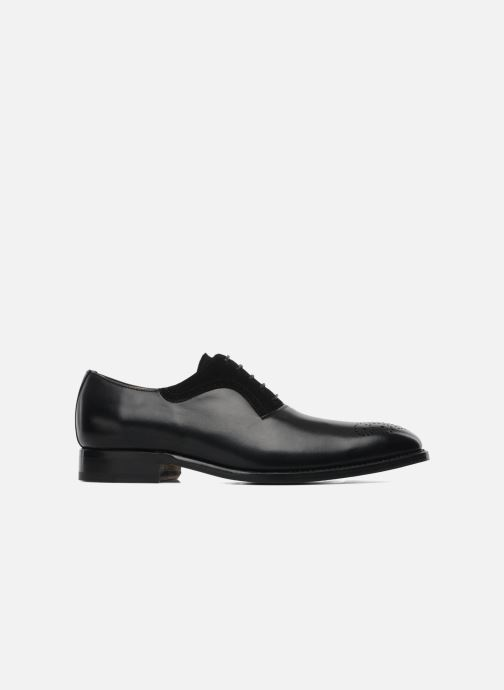 Lace-up shoes Marvin&Co Luxe Walburg - Cousu Goodyear Black back view