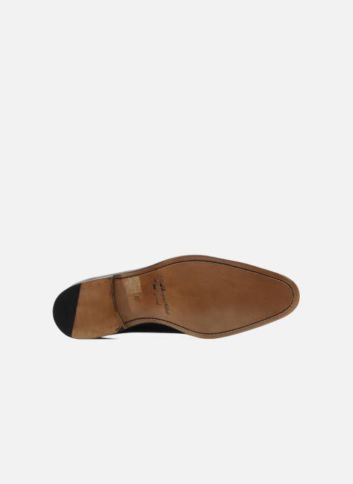 Zapatos con cordones Marvin&Co Luxe Walburg - Cousu Goodyear Negro vista de arriba