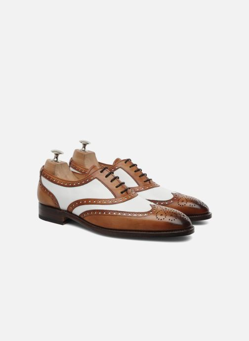 Lace-up shoes Marvin&Co Luxe Waldemar - Cousu Goodyear Brown 3/4 view