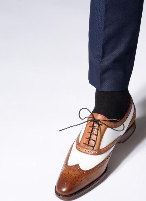 Schnürschuhe Marvin&Co Luxe Waldemar - Cousu Goodyear braun ansicht von unten / tasche getragen