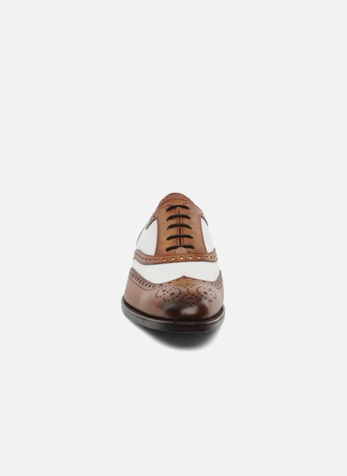 Lace-up shoes Marvin&Co Luxe Waldemar - Cousu Goodyear Brown model view