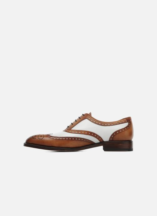 Lace-up shoes Marvin&Co Luxe Waldemar - Cousu Goodyear Brown front view