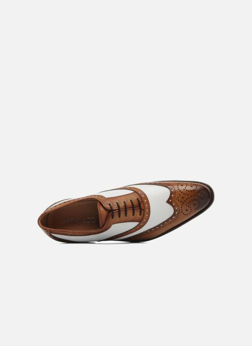 Lace-up shoes Marvin&Co Luxe Waldemar - Cousu Goodyear Brown view from the left
