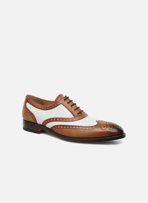Lace-up shoes Marvin&Co Luxe Waldemar - Cousu Goodyear Brown detailed view/ Pair view