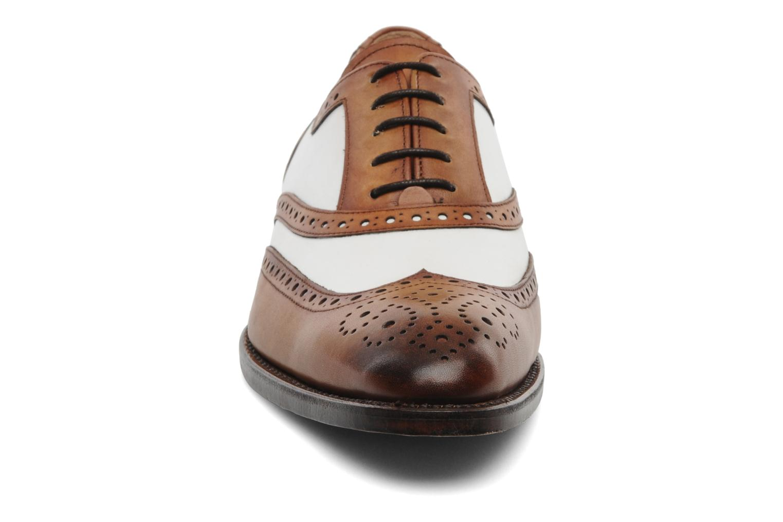 Schnürschuhe Marvin&Co Luxe Waldemar - Cousu Goodyear braun schuhe getragen