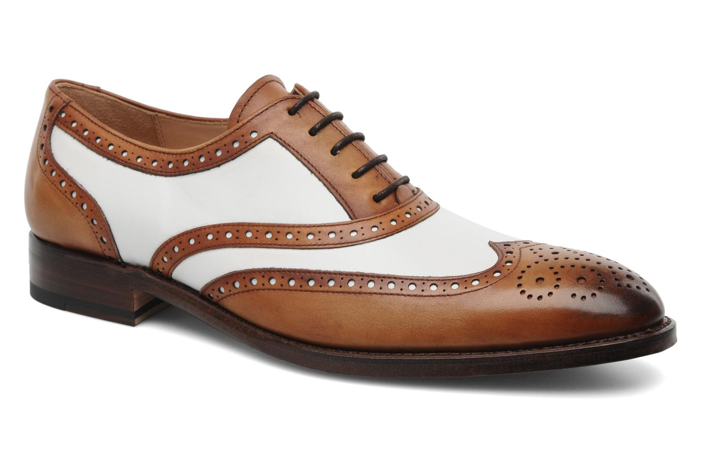 Schnürschuhe Marvin&Co Luxe Waldemar - Cousu Goodyear braun detaillierte ansicht/modell