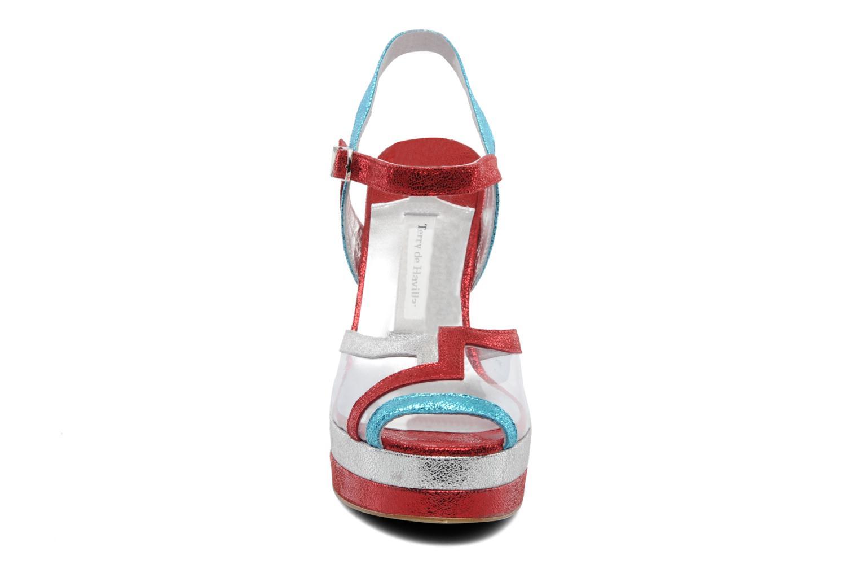 Sandales et nu-pieds Terry de Havilland Deco Multicolore vue portées chaussures