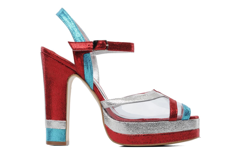 Sandales et nu-pieds Terry de Havilland Deco Multicolore vue derrière