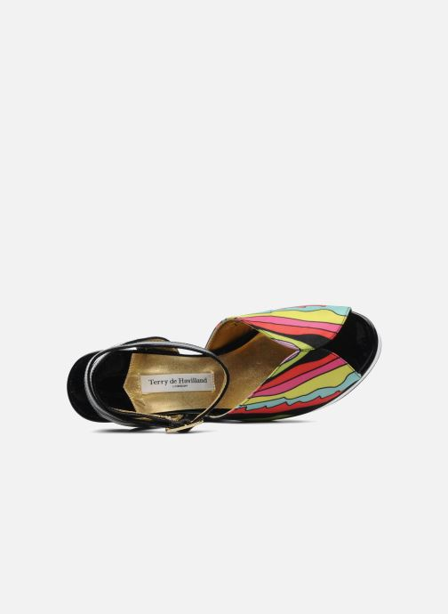 Sandalias Terry de Havilland Trippy Multicolor vista lateral izquierda