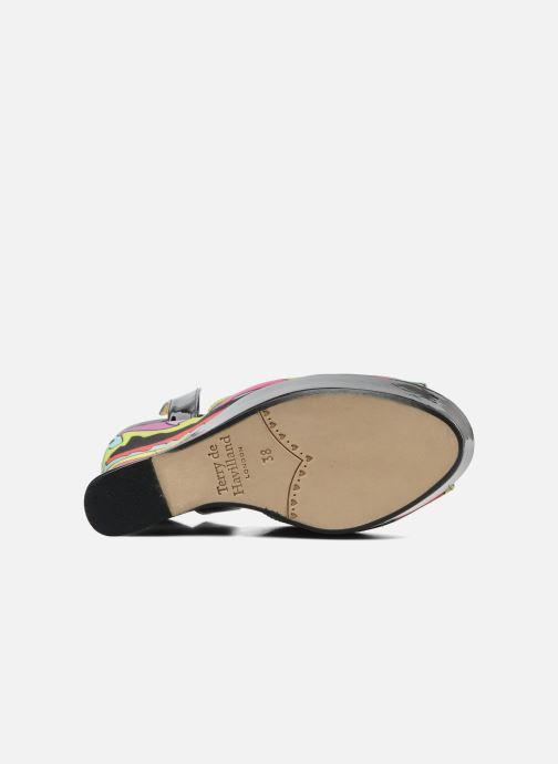 Sandales et nu-pieds Terry de Havilland Trippy Multicolore vue haut