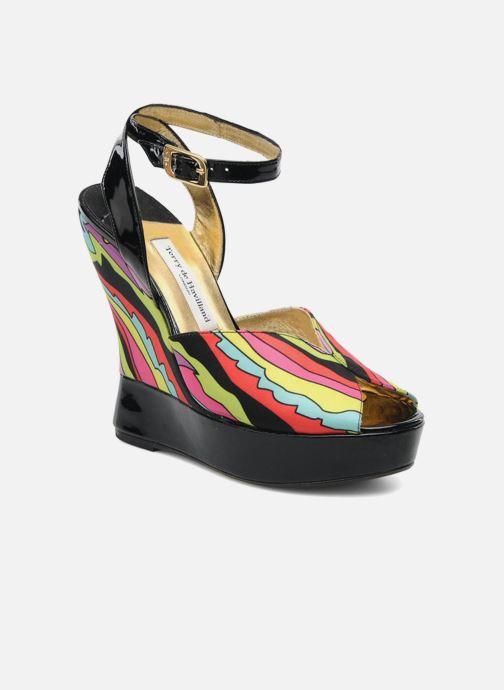 Sandales et nu-pieds Terry de Havilland Trippy Multicolore vue détail/paire