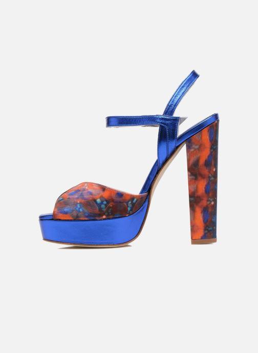 Sandales et nu-pieds Terry de Havilland Coco Bleu vue face