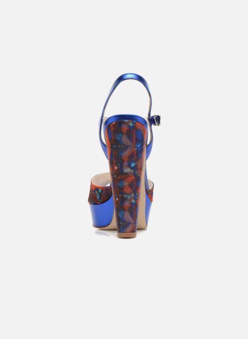 Sandales et nu-pieds Terry de Havilland Coco Bleu vue droite