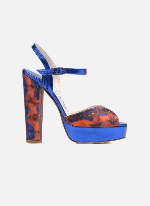 Sandales et nu-pieds Terry de Havilland Coco Bleu vue derrière