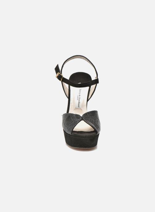 Sandales et nu-pieds Terry de Havilland Coco Multicolore vue portées chaussures